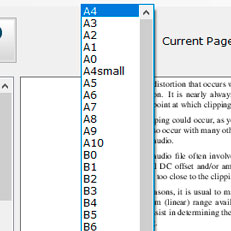 Page Size and Orientation Settings for Merging Pages