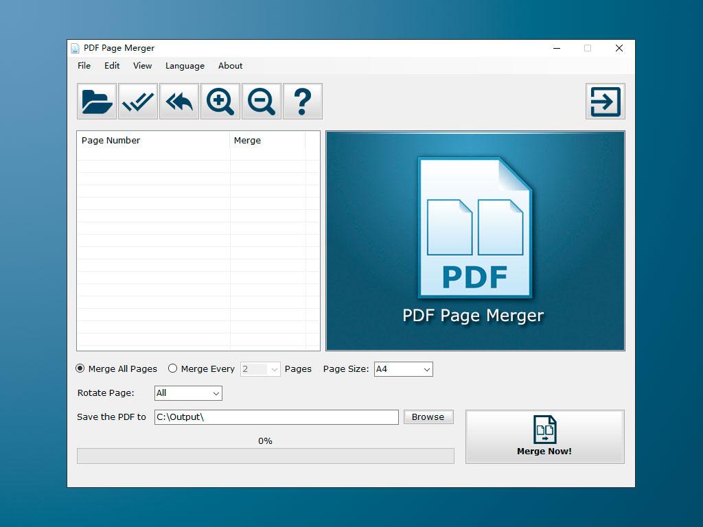 PDF Page Merger Download